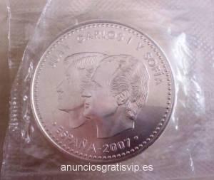 MONEDAS 12 EUROS PLATA