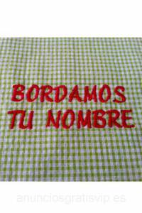 Bordados y estampados en babi