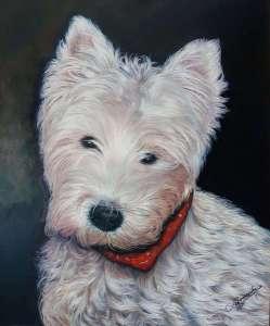 Realizo retratos de perros o mascotas por encargo